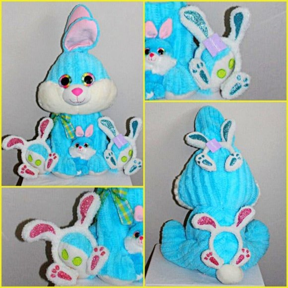 Other - Large Easter Bunny Plush with Ears